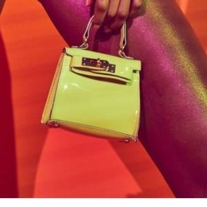 Missguided Neon Lime Mini bag